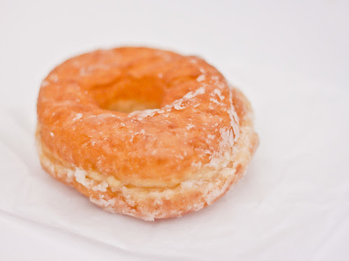 Honey-dipped doughnut