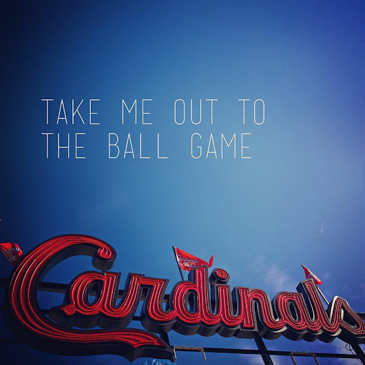 Cardinals Opening Day! | the composed interior