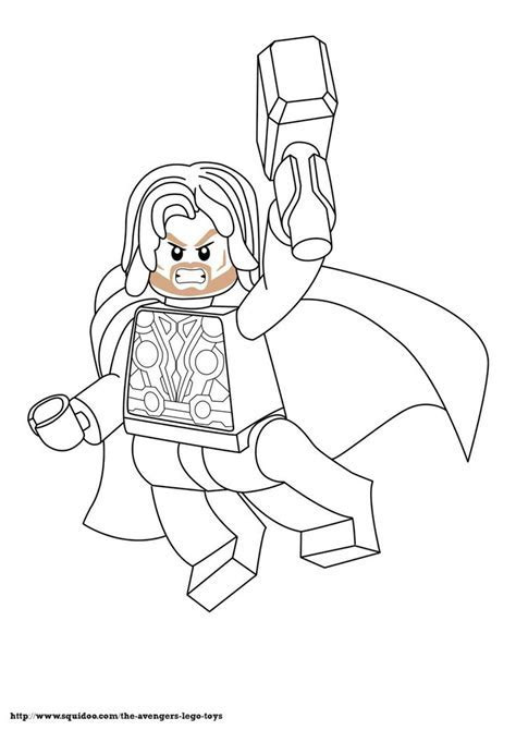 Coloring Activity Sheets Lego Avenger Coloring Pages Many