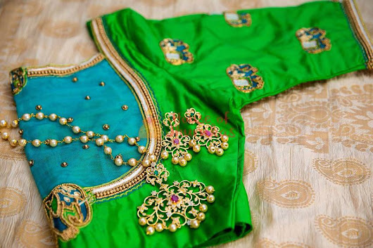 The Best Chennai Bridal Blouse Designers Just For You - Frugal2Fab