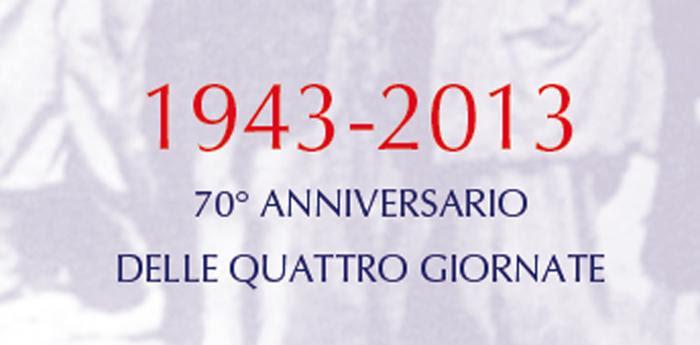 70esimo anniversario quattro giornate di napoli