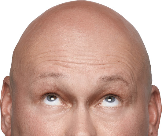 Bald Men Don't Use Hairspray. Do They? - Michael Thomas Sunnarborg