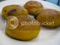 Fried pumpkin cakes