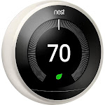Google - Nest Learning Smart Thermostat - 3rd Generation - White
