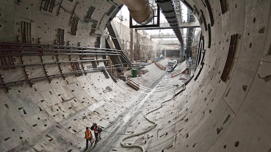 Under Seattle, a Big Object Blocks Bertha. What Is It?