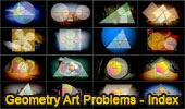 Geometry Art Problems for Desktops, High-end mobile devices and Tablets (iPad, Nexus, etc.)