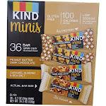 Kind Minis Peanut Butter Dark Chocolate - 36 count, 0.7 oz each