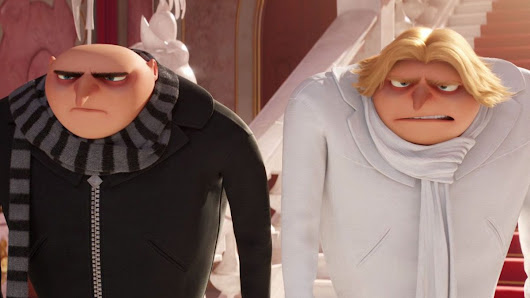 Despicable Me 3 Gru, Dru and Minions! - 3D Review | Blazing Minds