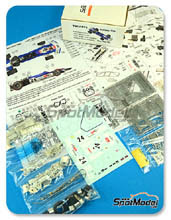Kit 1/43 This Way Up - Surtees TS9 Eifelland - Nº 24 - Stommelen - Gran Premio de Monaco 1971 - maqueta de metal