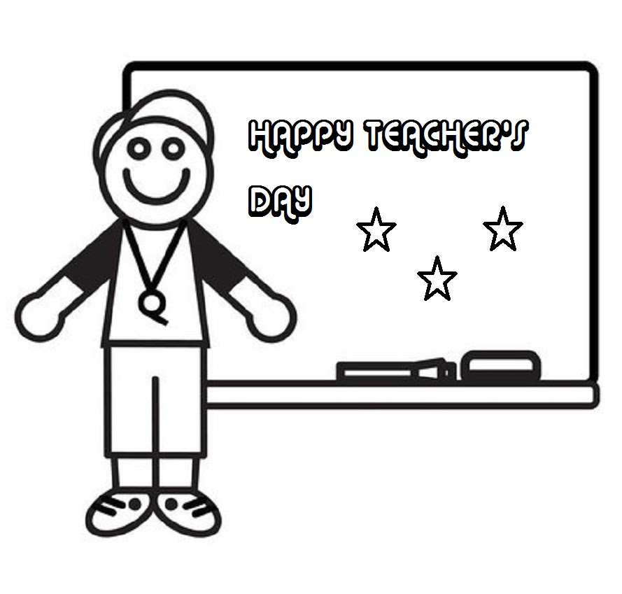 Thank You Teacher Coloring Pages Greeting Card of Teacher ...