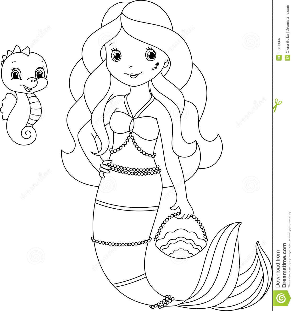 Mermaid Coloring Pages To Download And Print For Free Coloring Pages