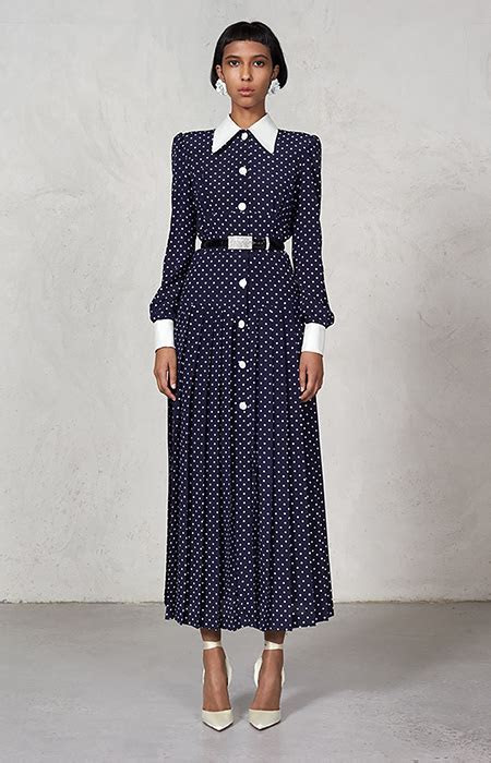 How Kate Middleton's navy polka dot dress was inspired by