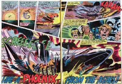 X-Men panel