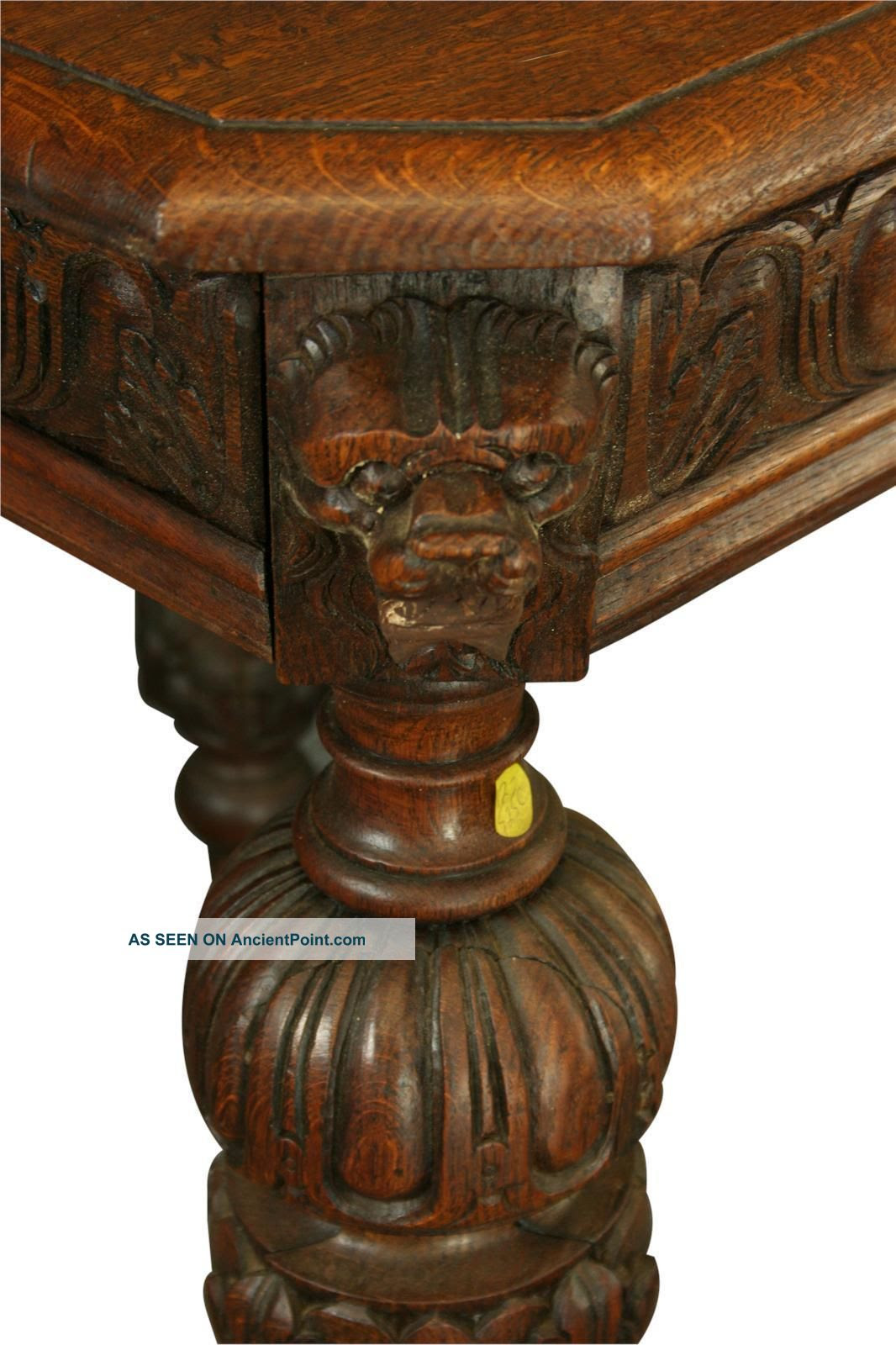 Value Antique Oak Dining Table