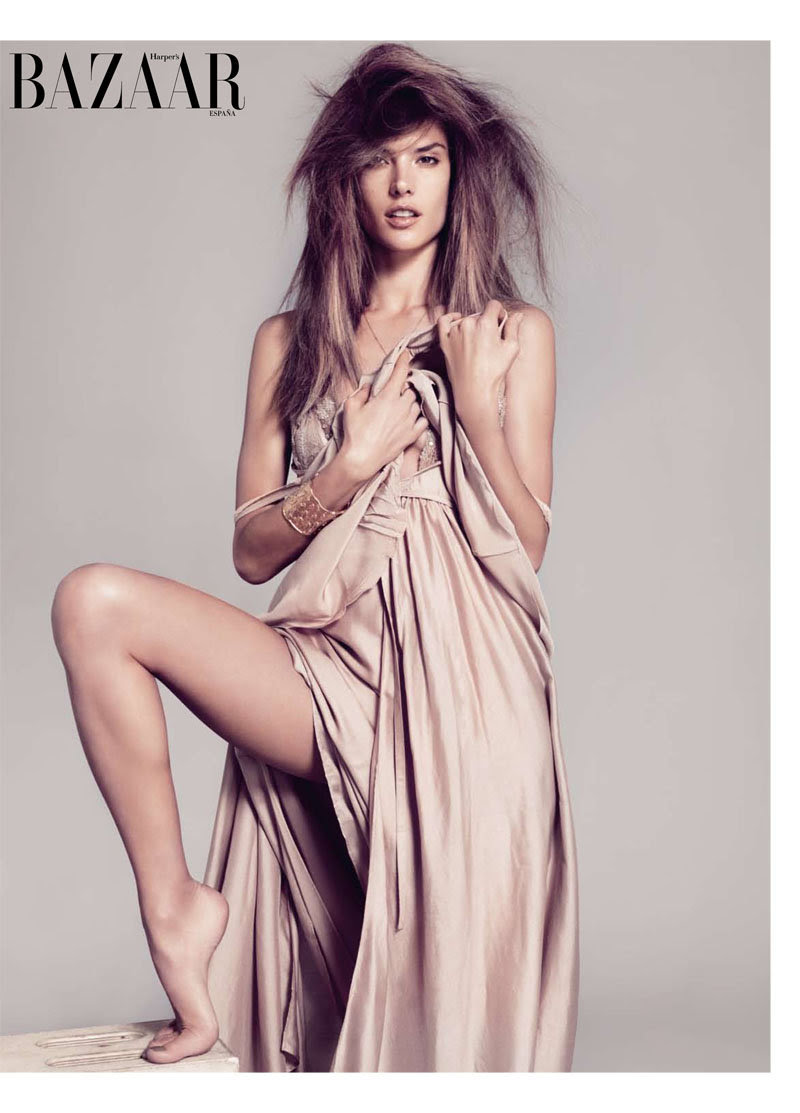 alessandra ambrosio5 Alessandra Ambrosio for <em>Harpers Bazaar Spain</em> February 2011 by Nico