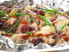 Chinese Steamed Herbal Chicken