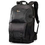 """Lowepro Fastpack BP 250 AW II Travel-Ready Backpack for DSLR Camera, 2-3 Extra Lenses/Flashes and 15"""" Laptop Plus Tablet"""