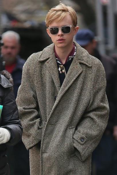 Red Coat Men Fashion