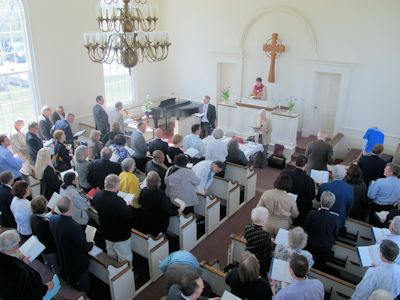 Presbytery of Long Island Meets at the Old South Haven Presbyterian Church