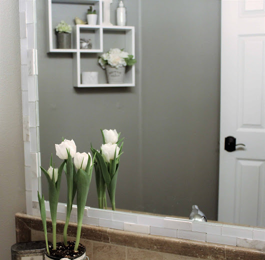 Easy Farmhouse DIY Bathroom Makeover in One Day Under $300!
