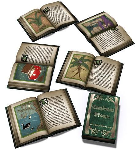 The Curious Flora book
