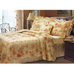 Greenland Home Antique Rose Quilt & Sham Set, Twin, Full/Queen Or King - Full/Queen Multi