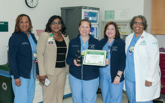 Kristen Barrett honored with DAISY Award for Extraordinary Nurses