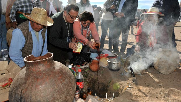 Ritual de la Pachamama en Jujuy