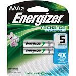 Energizer NH 12BP-2 Battery - AAA - NiMH