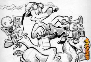 Le immagini raccontano: Asterix, Sky Doll, Panini Comics, Disney e omofobia, Logan, Prévert, Monte-Cristo, Tintin, Autopia, Pogo, Alex Toth, John Buscema