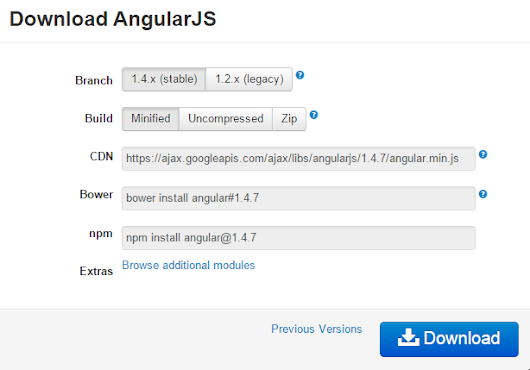 How to use Angularjs to develop your first Angularjs web Application - Dot Net Stuff