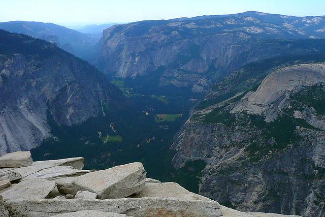 P1180356 Half Dome Trail: Top of Half Dome