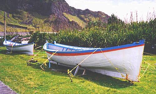 Tristão da Cunha - Barcos