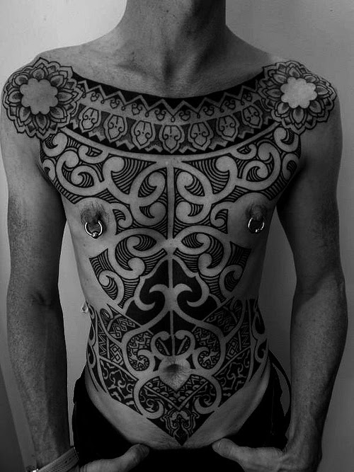 Inca Whole Body Tracery Tribal Tattoo Best Tattoo Ideas Gallery