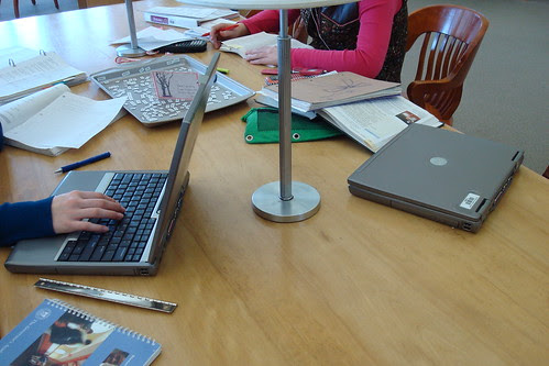 Laptops Are Just Another Tool by Pesky Library, on Flickr