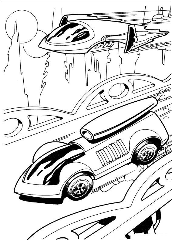 Kids N Funcouk 41 Coloring Pages Of Hot Wheels