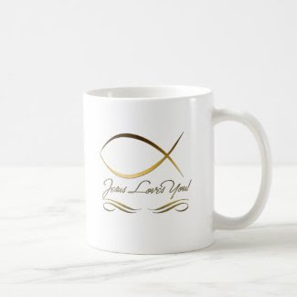Jesus Loves You Coffee Mugs