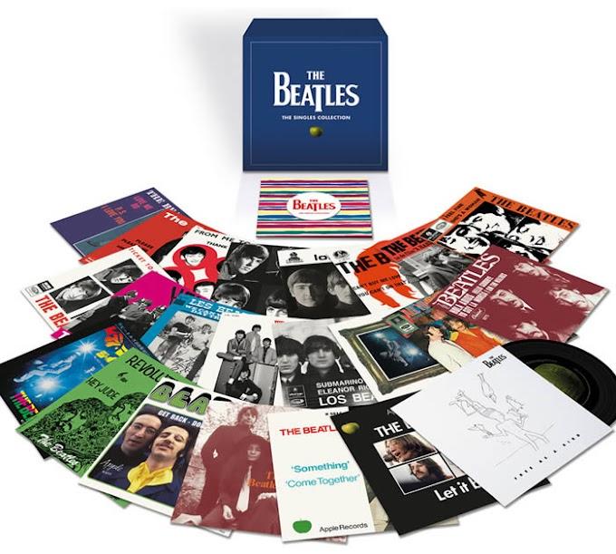 Los singles de los Beatles regresan en vinilo