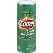 Comet Powder Cleaner with Bleach - 21 oz shaker