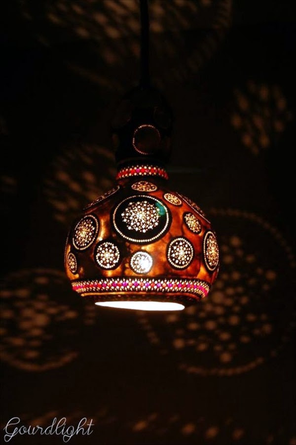 Amazing Art Inspired Gourd Lamps (47)