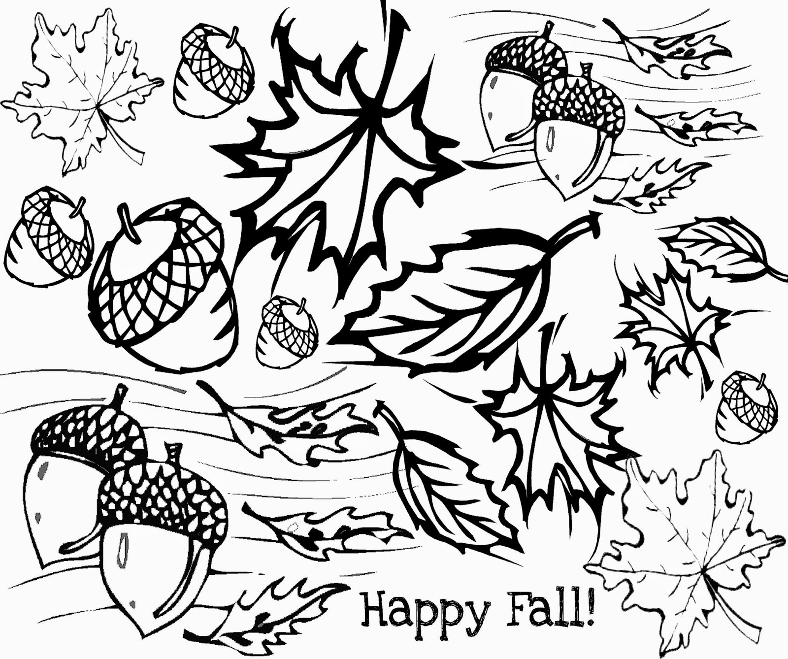 Crayola Fall Coloring Pages at GetColorings.com | Free ...
