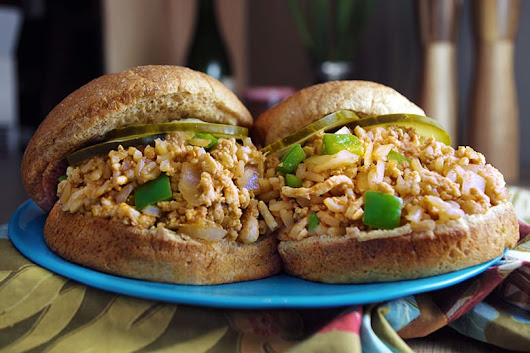 Chicken and Brown Rice Sloppy Joes - Food & Nutrition Magazine