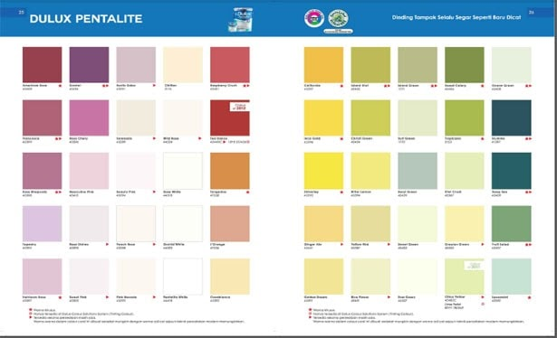 10 Terbaru Warna Cat Dulux Liberty Warna Cat