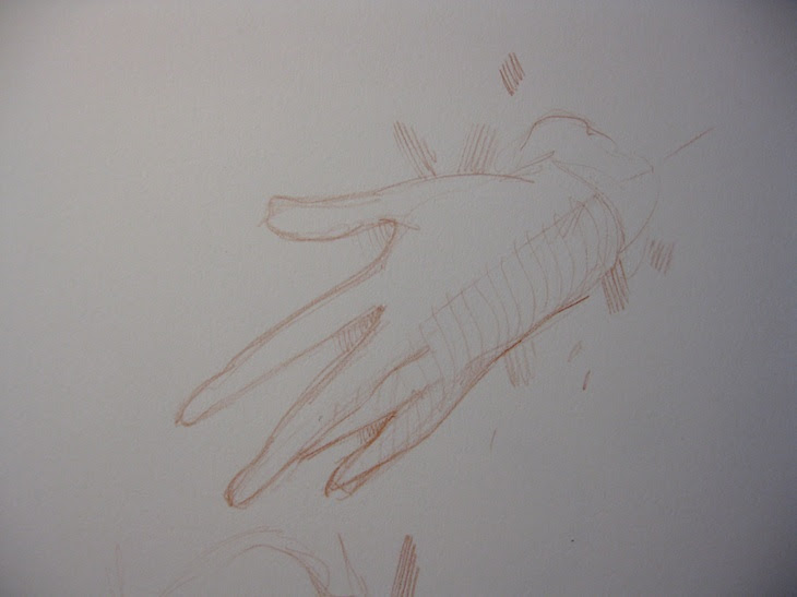Hands drawing  kevin gough