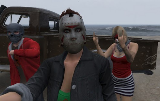 Halloween came to Grand Theft Auto Online