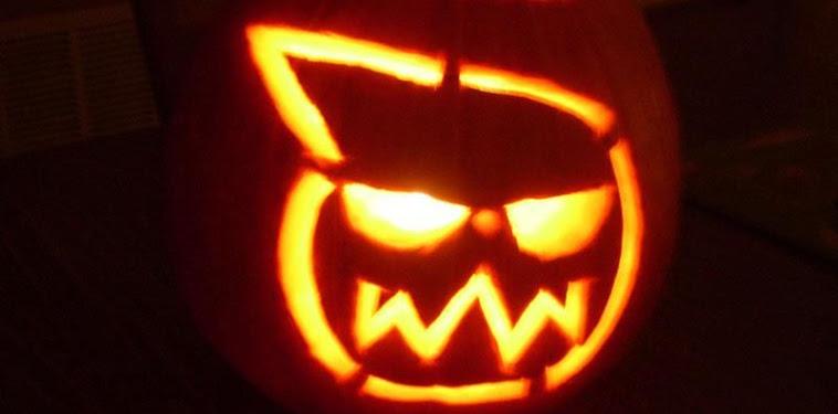 Soul Eater Pumpkin Stencil