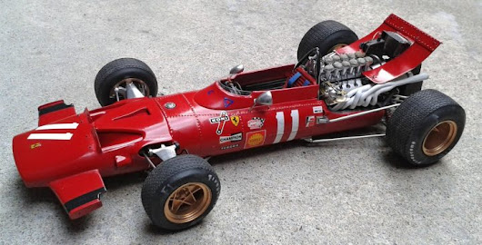 Building the MFH Ferrari 312/69 #K156 - 1/20 scale
