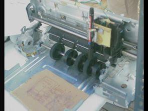 Máy tính kiểm soát PCB Plotter với PIC16F628 ULN2003