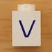 Vintage LEGO Letter V
