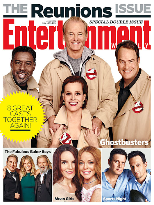 GHOSTBUSTERS Reunion EW Cover and Video with Bill Murray